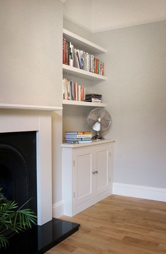 The Shelving Company Alcove Cupboard Floating Alcove