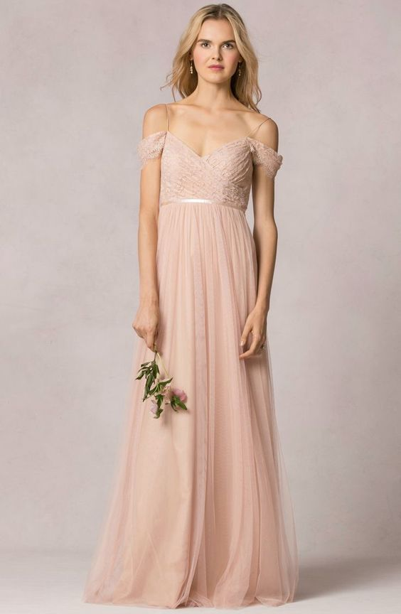 """""""Leighton"""" bridesmaid dress in lace/tulle by Jenny Yoo"""