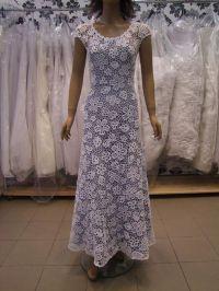 Irish crochet wedding dress | Knitted, crocheted wedding ...