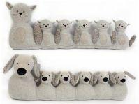 Animal design, Grey and Grey fabric on Pinterest