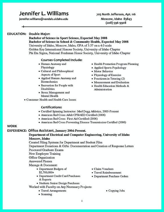 college golf resume example college golf resumes resume service college well organized written college golf resume