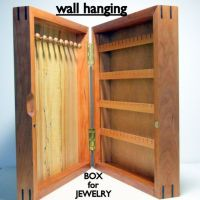 Jewelry organizer wall, Wall hangings and Jewelry cabinet ...