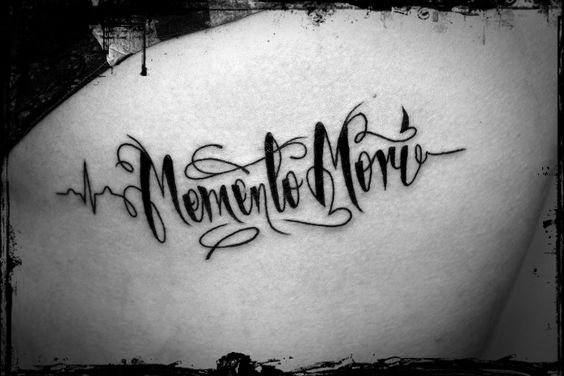 Memento mori tattoo ink pinterest memento mori