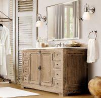 Restoration Hardware Style Bathroom Vanities | Restoration ...
