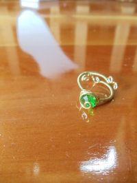 The L.O.Z. Kokiri's Emerald Ring   Cute promise rings ...