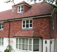 Tudor Roof Tile adds style and value with vertical hanging ...