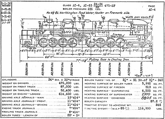 schematic drawings of steam locomotive 2 10 2