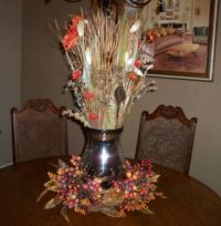 Fall Formal Dining Table Centerpiece | Home Decor ...