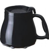 Black Plastic Wide Bottom Coffee Mug | Wide Bottom Mugs ...