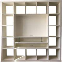 Ikea TV Stand w/ Bookcase | Ridgewood Paradise | Pinterest ...