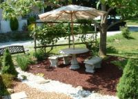 rubber mulch patio | Backyard DIY | Pinterest | Patio ...