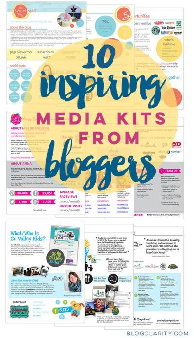 10 Inspiring Media Kits from Bloggers | Dr. who, Student ...