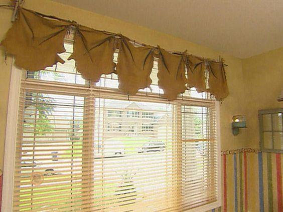 rustic window treatment ideas