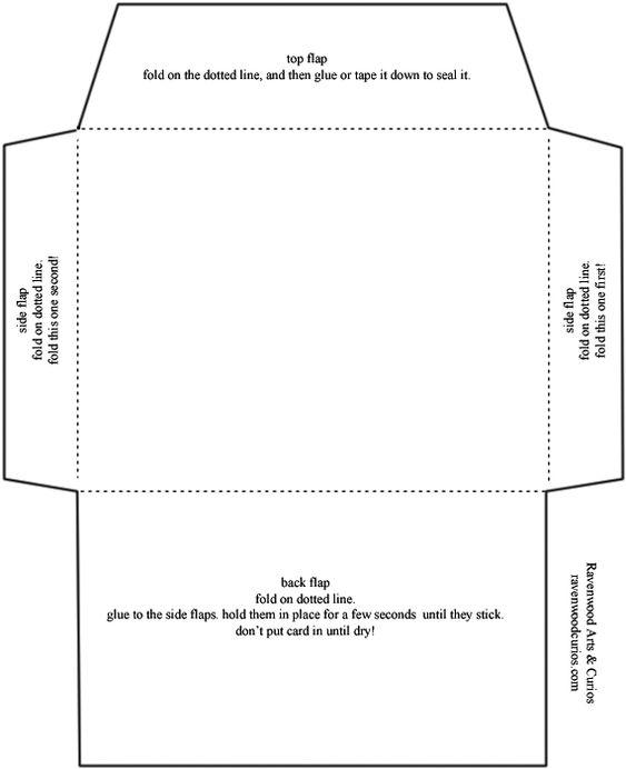 Envelope Template Standard Envelope Template Free