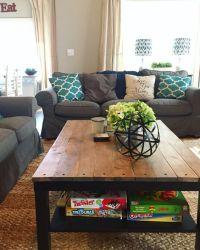 Ikea Hack: Lack coffee table | My Home DIY's | Pinterest ...