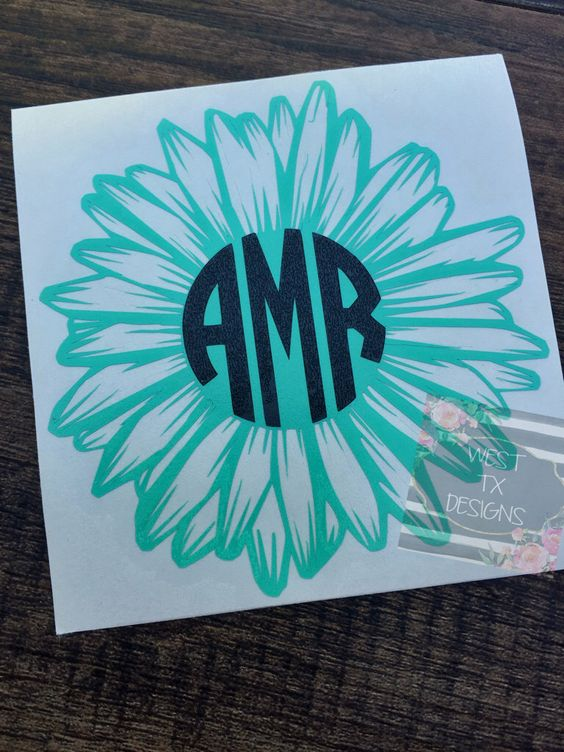 monogrammed car stickers