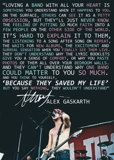 Rock Music Quotes About Life | All Time Low Quotes Tumblr ...