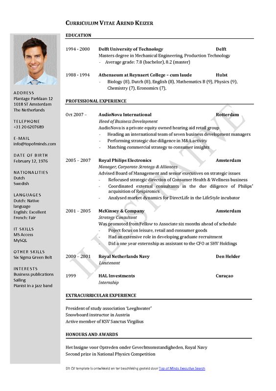 cv layout template word   insurance policy demand lettercv layout template word simple cv template simplified layout clear and concise vitae template word download