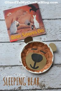 Kids crafts, Paper plates and Bears on Pinterest
