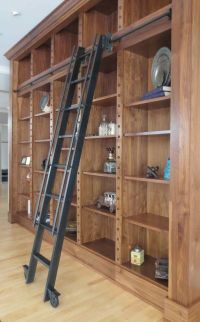 Custom Made Steel Rolling Library Ladder   HOUSE ...