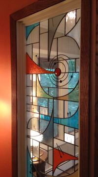 Modern stained glass, Stained glass windows and Mid ...