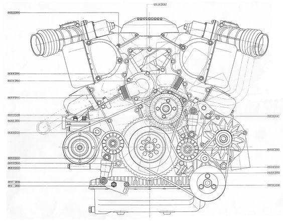 bmw v12 engine diagram