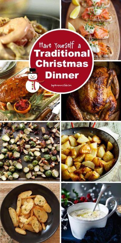 Traditional Christmas Dinner Menu | Traditional Christmas Dinner Menu, Traditional Christmas ...
