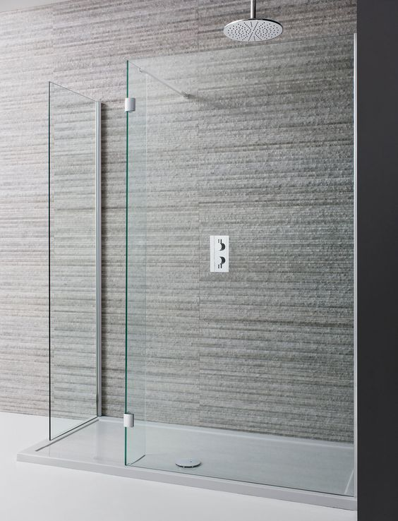 Design Double Sided Walk In Shower Enclosure in Design