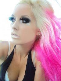 pink blond hair | Hair~Nails~Beauty | Pinterest | Wimpern ...