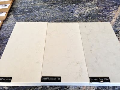 Organic White Vs. Frosty Carrina Vs. London Grey | Caesarstone