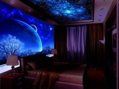 Glow In The Dark Paint - Do The Ceiling Of Movie Theatre Room
