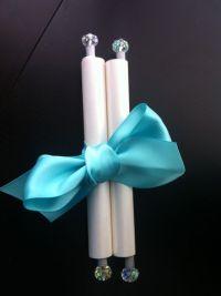 Crystal scroll Invitation. | Wedding Invitations ...