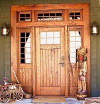 Log home entry doors | Wood Exterior Doors | Doors Design ...