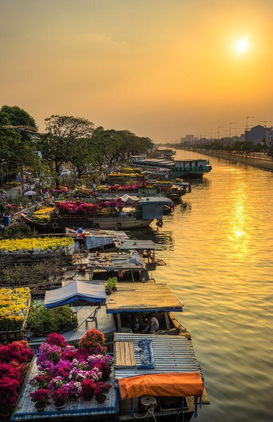 Binh Dong Canal, Vietnam: