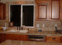 kitchen remodel, tile around kitchen sink window | Home ...