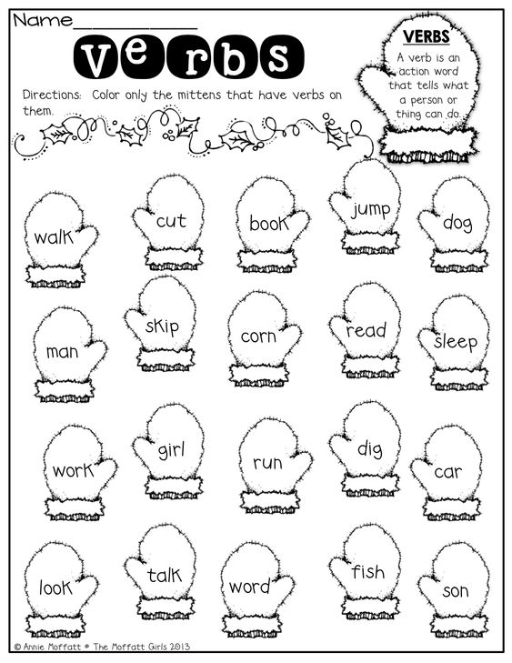 Free Coloring Pages Of Action Verbs Literacy Pinterest