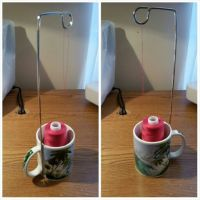 Cone thread holder stand - free, cheap, easy | Sewing ...