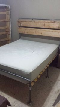 Galvanized Pipe Bed | Pictures of, Galvanized pipe and Beds