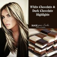 Chocolate and Blonde Highlights - Hair Colour Inspiration ...