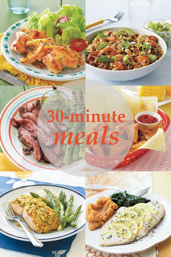 30 Minuten Küche Easy Cooking 30-minute Meals | Easy Meal Ideas, Easy Meals And Meals