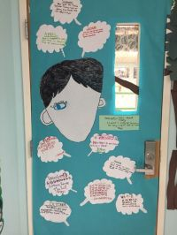 Wonder- Door decoration contest for books we are currently ...