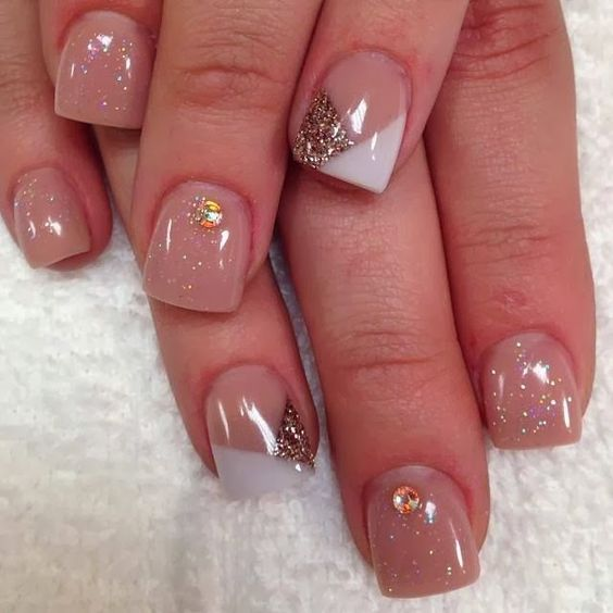 Acrylics Manicures And Nail Design On Pinterest
