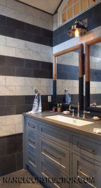 boys bathroom. Nance Construction like the painted ...