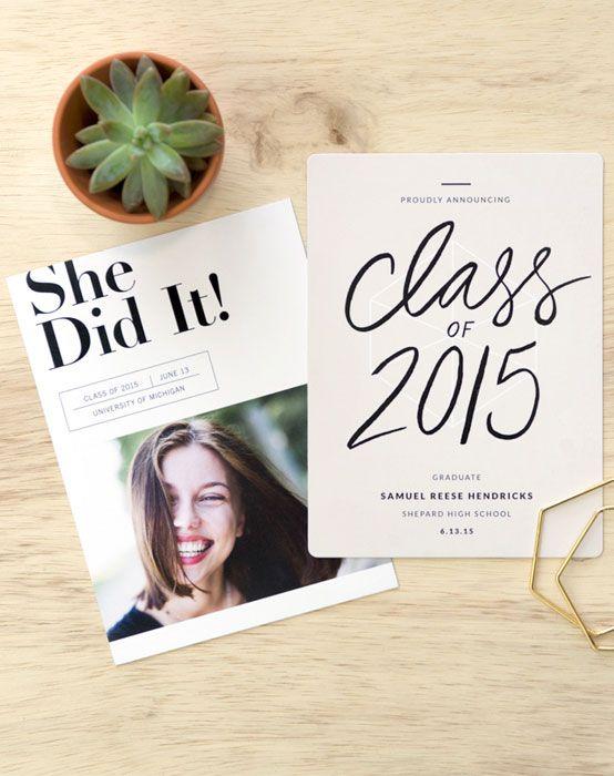 1000 Ideas About Graduation Announcements On Pinterest
