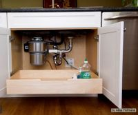 roll out drawer under kitchen sink, roll out drawer in ...