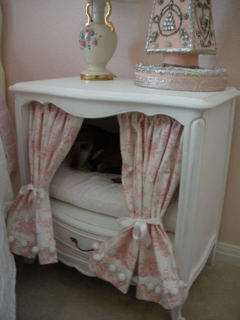 My Version Of Dresser Doghouse From Hgtv'S Decorating Cents Idea
