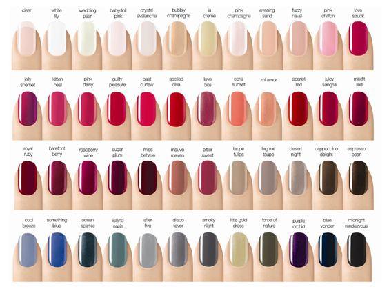 Opi Nail Polish Color Chart Fall 2013 Color Gel