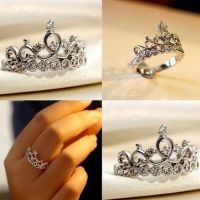 sterling silver princess crown promise ring http://www ...