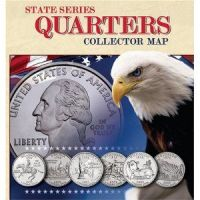 state quarter collection holder | Fifty States Facts ...