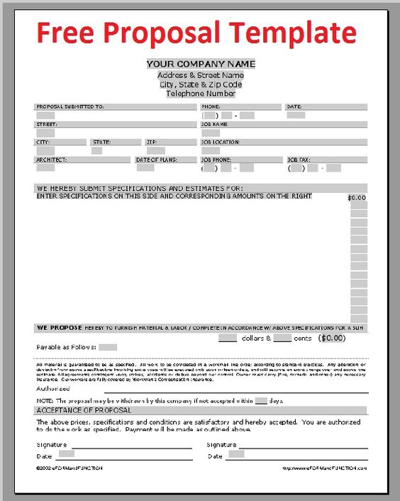 Construction Contracts Template Free – Free Construction Contracts Templates